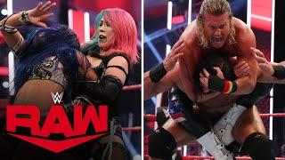 McIntyre & Asuka vs. Ziggler & Banks – Champions vs. Challengers Match: Raw, June 29, 2020