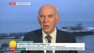 Sir Vince Cable Is Completely Against a Trump State Visit | Good Morning Britain
