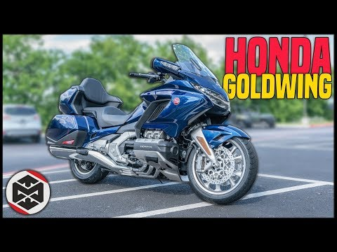 First Ride on the 2018 Honda Goldwing!