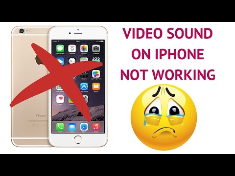 iphone 6s sound not working when recording videos! | VEENA V