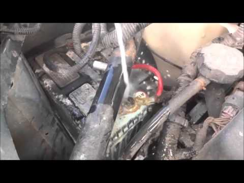 Baking Soda On Battery to Remove Corrosion On battery of car