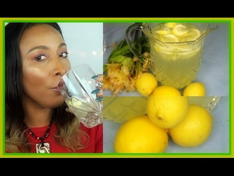 STOP! YOU ARE MAKING A BIG MISTAKE DRINKING LEMON WATER LIKE THAT, HOW TO MAKE LEMON WATER| K.Beauty