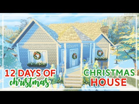 12 Days of Christmas in The Sims 4 🎄🎄 | Christmas Home (Day #9)