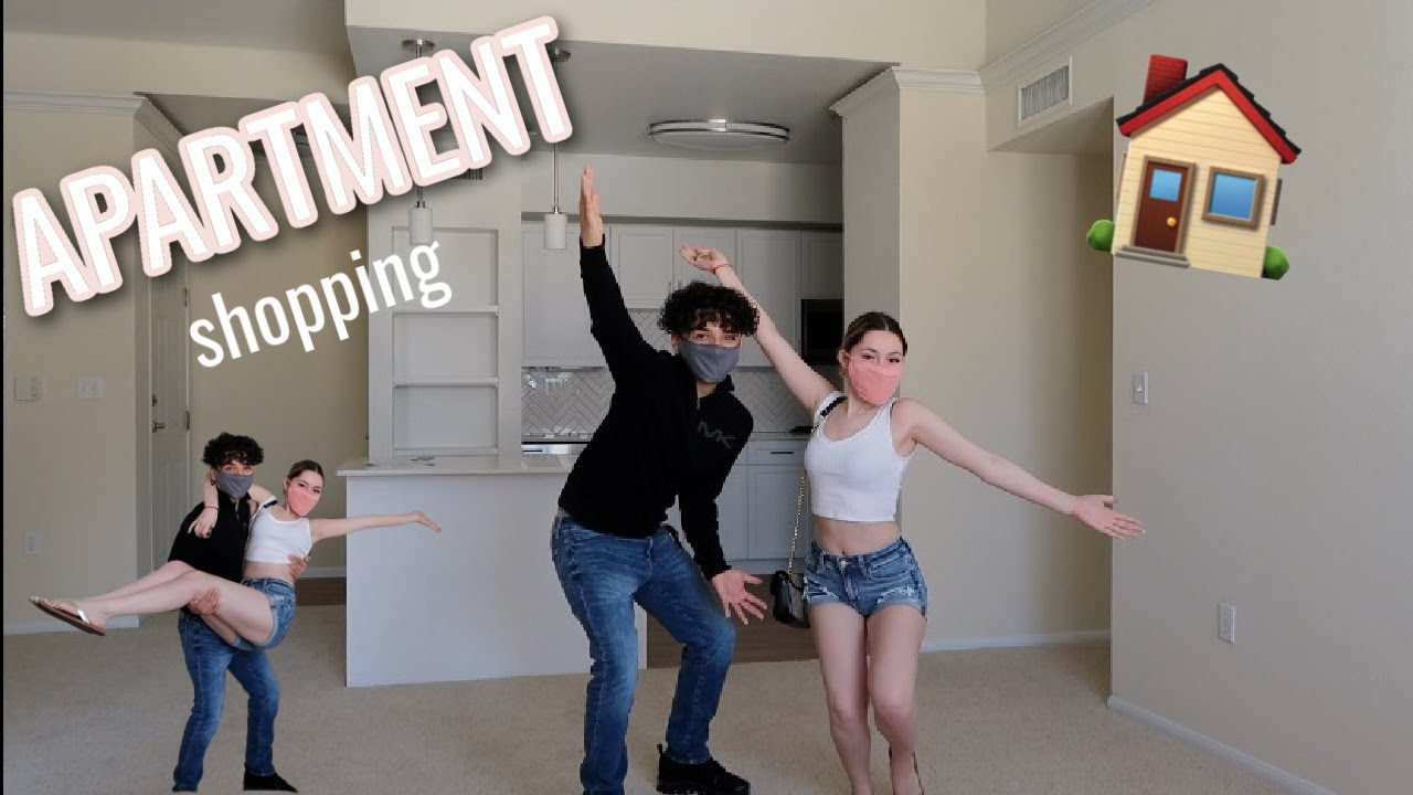 WE WENT APARTMENT HUNTING | he's moving !