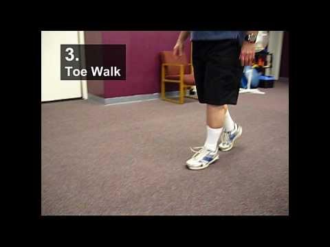 Fall Prevention Exercises (Balance Series) - Toe Walking