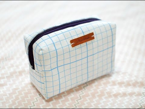 Shine Sewing Tutorial How to Make a Toiletry Bag