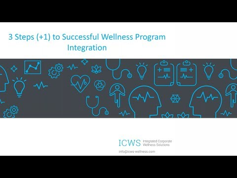 Three Steps to Better Integrate Wellness Strategy