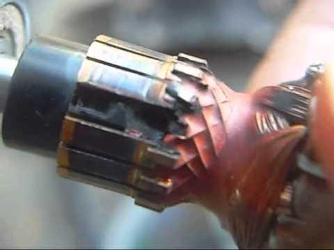 Dremel autopsy-commutator damage