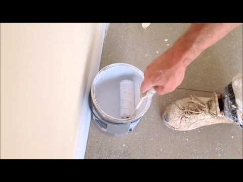 Painting & Decorating, How to make a roller tray from a tin of paint