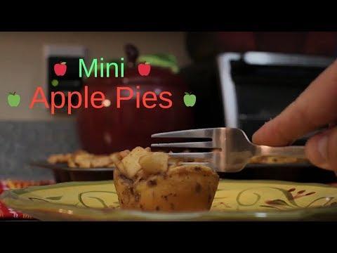 Mini Cinnamon Roll Apple Pies