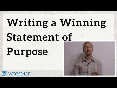 How to Write a Winning Statement of Purpose (SOP)