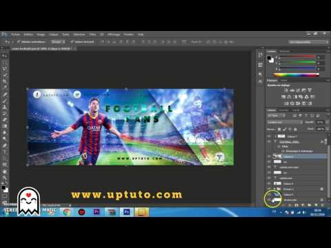 How to create a Facebook Timeline Cover Photo in Photoshop