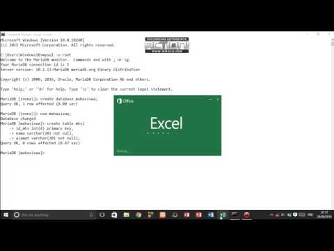 MySQL for Beginners - How to Import csv File into SQL using Command Prompt