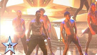Things HOT UP with Channing Tatum and the SIZZLING stars of Magic Mike! | The Final | BGT 2018