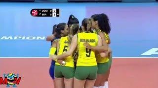 Rosamaria, Juma, Winifer Fernández || chemistri team sexy player volleyball