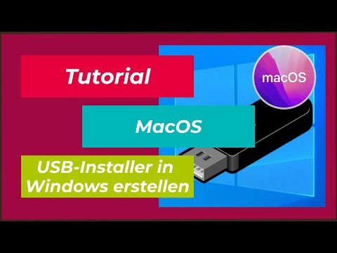 Tutorial | Mac OSX USB Installer in Windows erstellen | TransMac USB Installations Stick