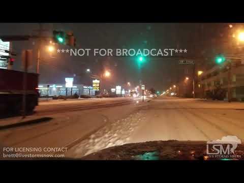 1-4-2018 Ocean City,MD / Millville DE Blizzard Conditions