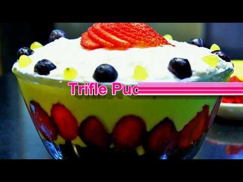 How to make Trifle Pudding Cake | Leftover Cake and Pudding Recipe |  MadhurasRecipe | Ep - 623