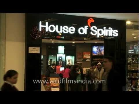 House of spirits - a liquor store at Select Citywalk