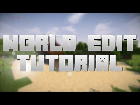 How I Use World Edit! | Minecraft Tutorial (1.10.2 - But works for any version!)