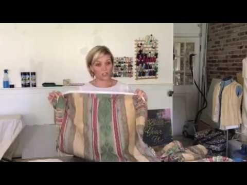 The Easiest Way to measure a Cushion