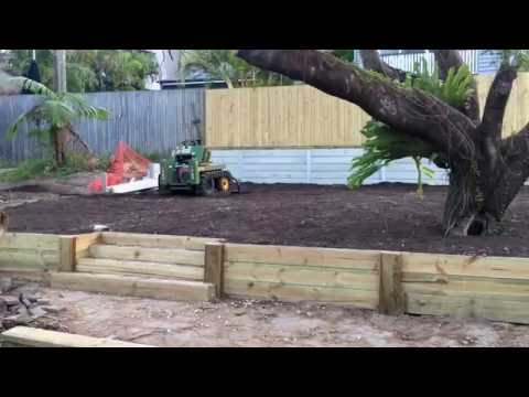 Form Outdoors Landscaping Gold Coast to Brisbane Retaining Wall