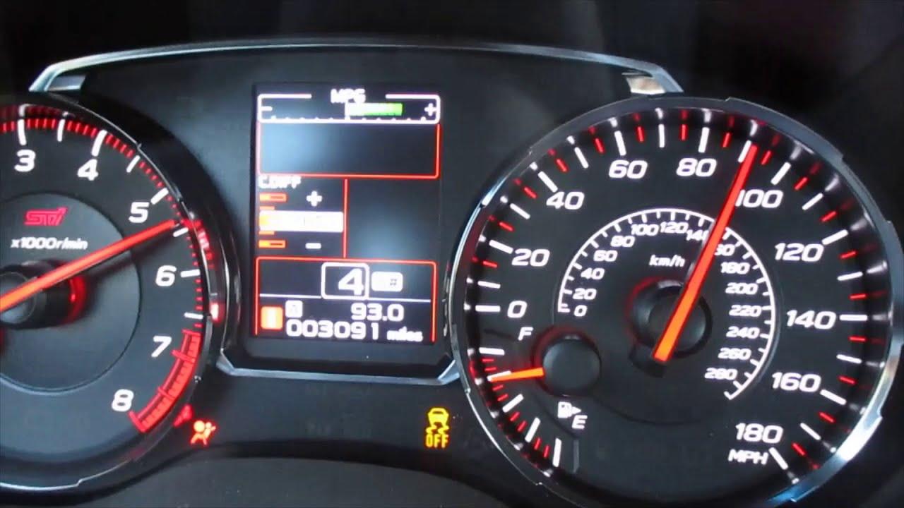 2020 STi  0-60 mph