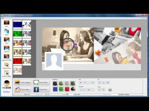 Photo Collage Software - Picbow Free Style Collage