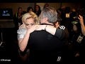 Lady Gaga broke down in tears  after the Super Bowl Show