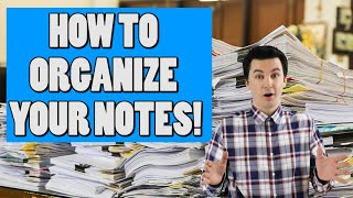 Organizing Your Notes For The AP Human Geography Test!
