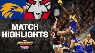 West Coast v Essendon Highlights | First Elimination Final | 2019 | AFL