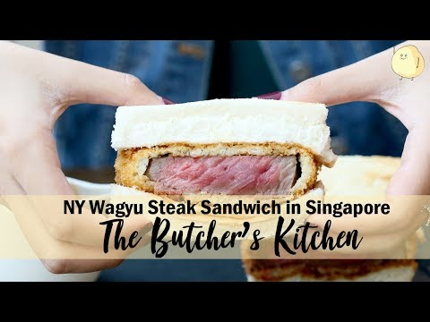 The Butcher's Kitchen - Flamed Dice Bowls And NY Wagyu Steak Sandwiches