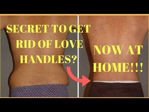 How to get rid of love handles in 1 month at home | 4 easy exercises