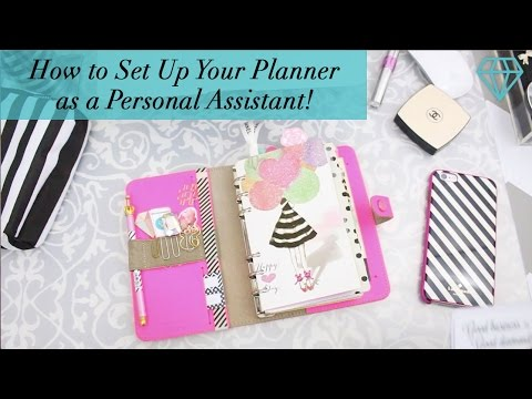 How to Set Up Your Planner as a Personal Assistant