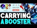 I Purchased a BOOST Then Carried The Booster!! **He Called Me Out** - League of Legends [REUPLOAD]