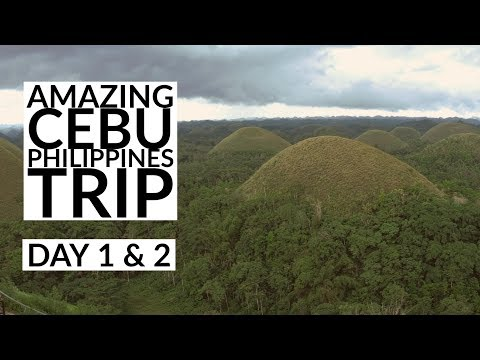 Amazing Cebu, Philippines Trip - Day 1 & 2 Bohol Island