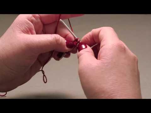 How to knit a kippah- Step 2