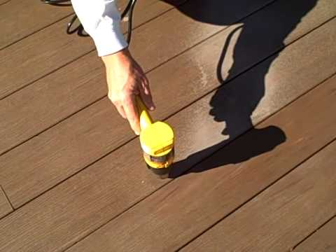 Goof off stains Azek decking- here's the fix
