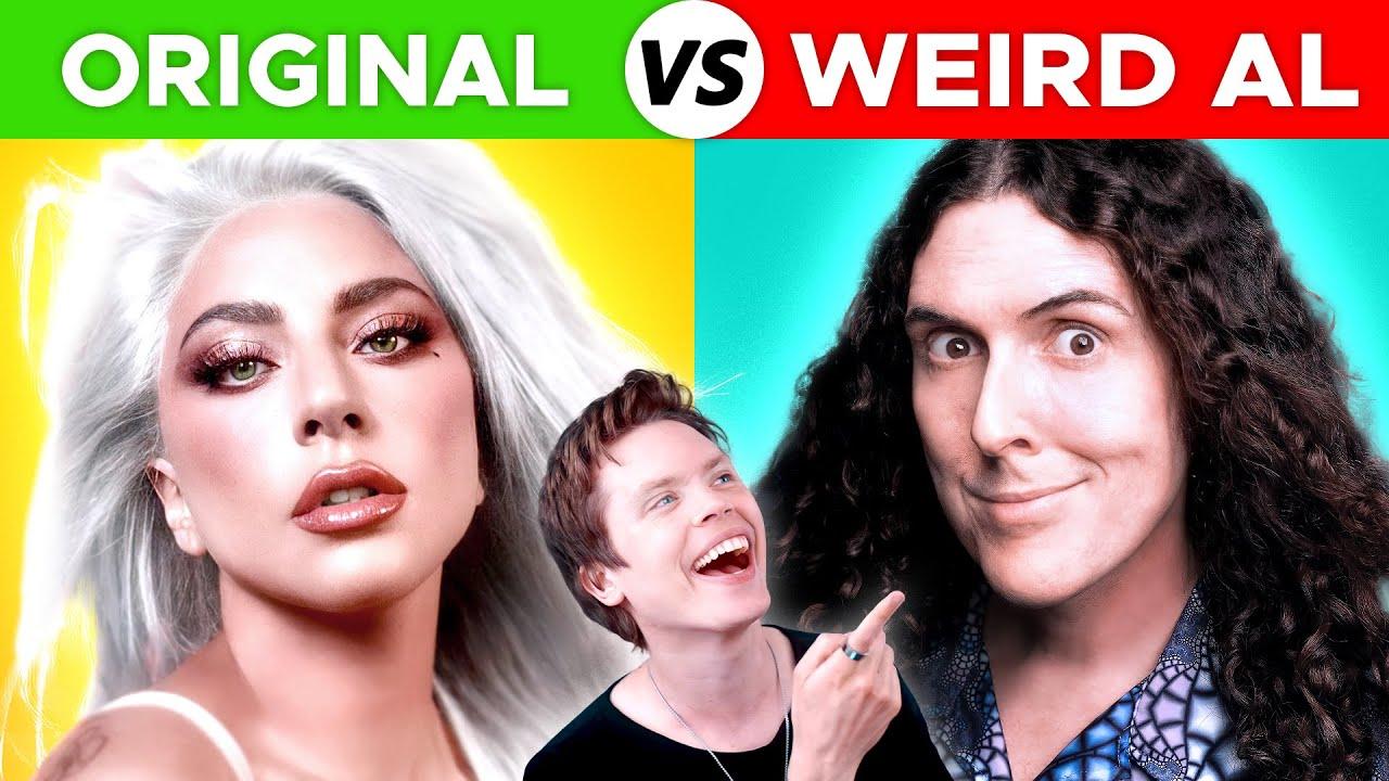 Original Songs vs Weird Al Parodies