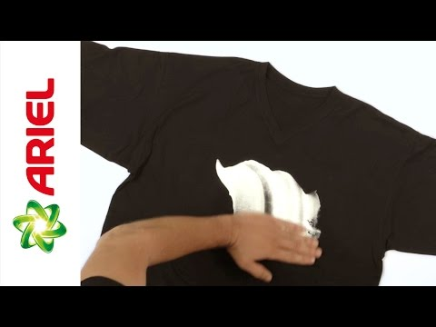 How to Remove Foam Stains When Handwashing Fabric - Ariel