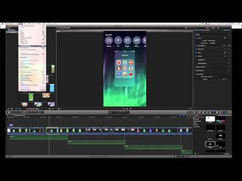 How to Crop Multiple Frames at once in Final Cut Pro X fcpx, cop multiple video clips at once