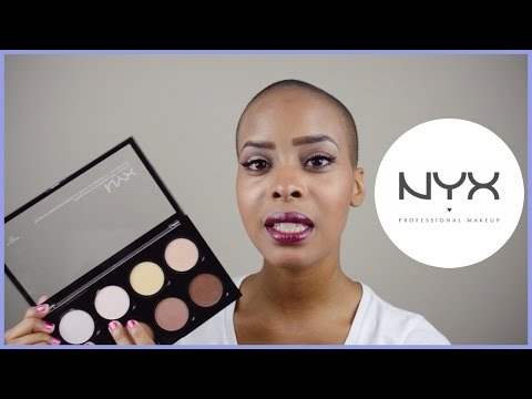 NYX HIGHLIGHT + CONTOUR PRO PALETTE REVIEW | Crystal Lackland