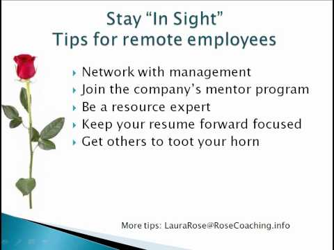 Stay In Sight - 5 Tips for remote employees.wmv