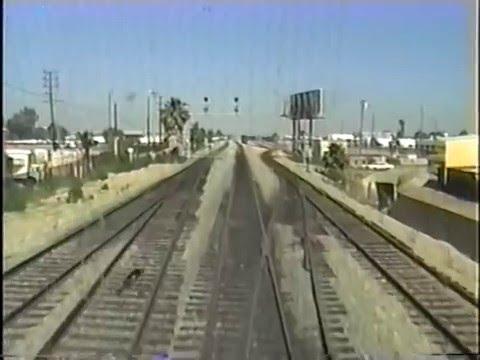 Amtrak Coast Starlite #14 Los Angeles to Santa Barbara