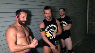 Adam Cole promises to change NXT forever by dethroning NXT Champion Drew McIntyre in San Antonio