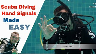 Diving Hand Signals used by Dive Instructors IDC and Divemasters PADI
