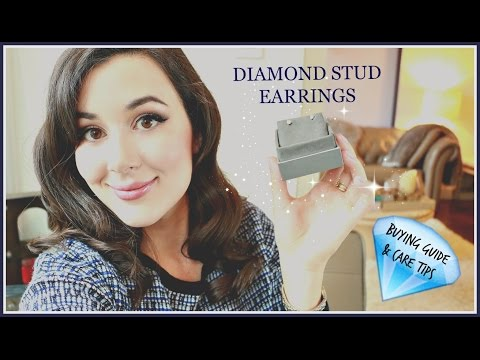 DIAMOND STUD EARRINGS BUYING GUIDE & CARE TIPS