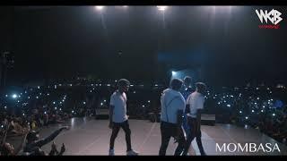 Diamond Platnumz -  Performing live at Mombasa  Part 1 (wasafi festival 2018)