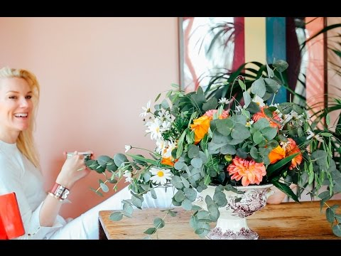 HOW TO MAKE BEAUTIFUL FLOWER ARRANGEMENTS
