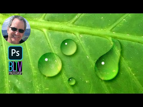 Photoshop Tutorial: How to Make Water Drops